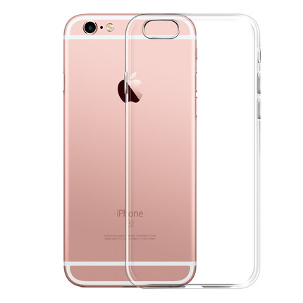 Classic Protective Transparent Soft Silicone Case for iPhone