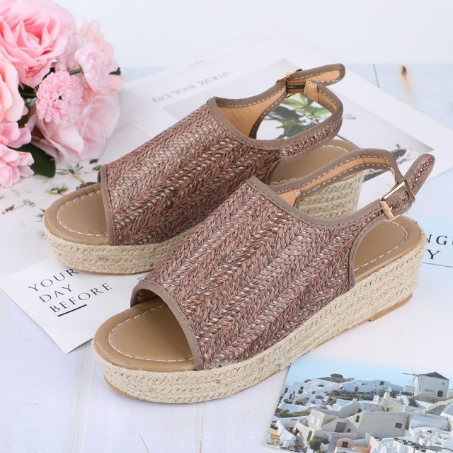 Women's Summer Braided Sandals