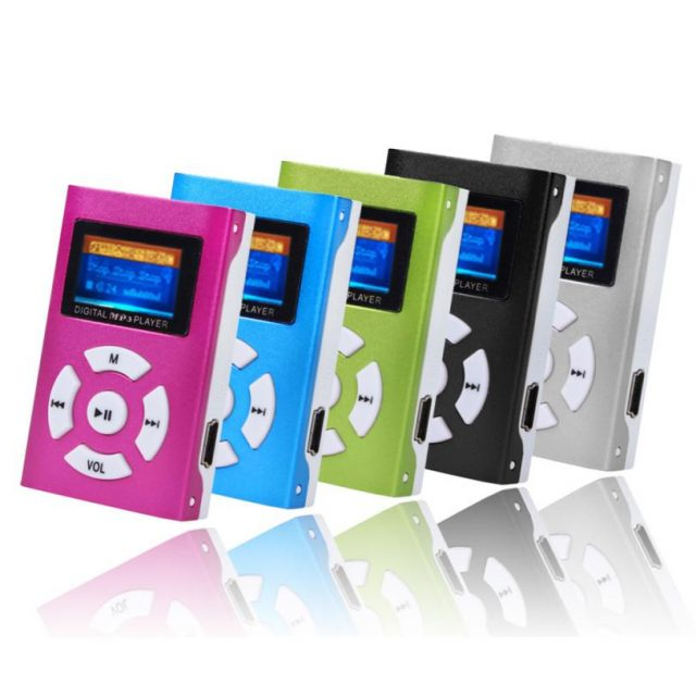 Stylish MP3 Player with LCD Screen